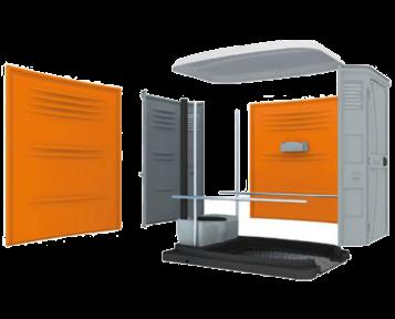 mobileklyn vente france de cabine wc chimique mobile. Black Bedroom Furniture Sets. Home Design Ideas
